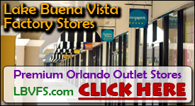 LBVFS.com Lake Buena Vista Factory Stores Outlet Shopping